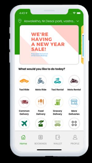 Gojek Clone Multi Service App