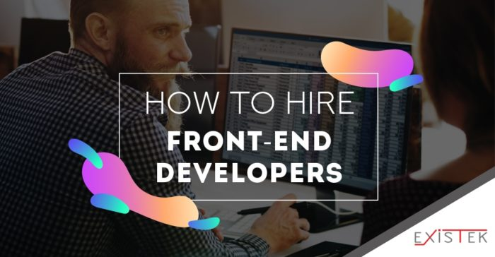 How to Hire a Web Developer | Existek Blog