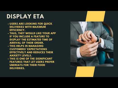 How to Make a Food Delivery App like Ubereats | Ubereats Clone To start with, understand how the market functions and make use of the knowledge to get your Ubereats Clone app developed. Study your competitors and the factors that help them stay ahead  ...
