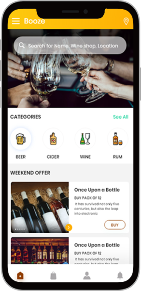 Level up your alcohol delivery business by getting into Alcohol Delivery App Development. With t ...