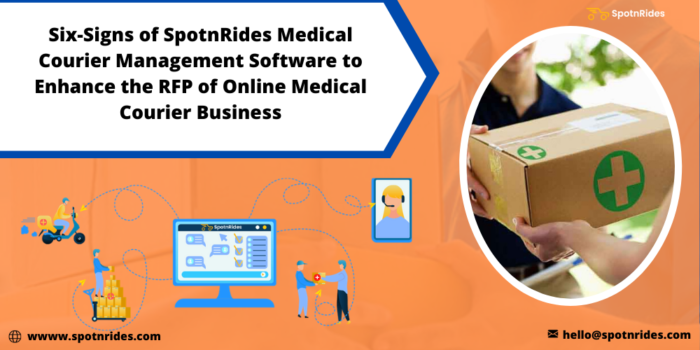 How to Improve Your RFP in Medical Courier Business Using SpotnRides Medical Courier Management  ...