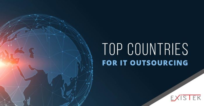 Top IT Outsourcing Countries in 2020 | Existek Blog
