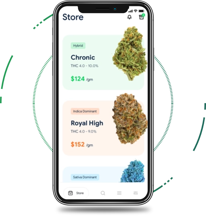 Uber for Weed Delivery App Development | On-Demand Cannabis Delivery App