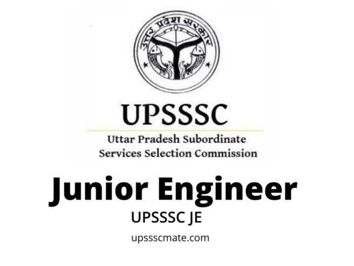 UPSSSC JE – Upsssc Mate