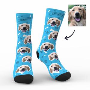 Custom Dog Socks With Your Text – MyFaceSocksUK