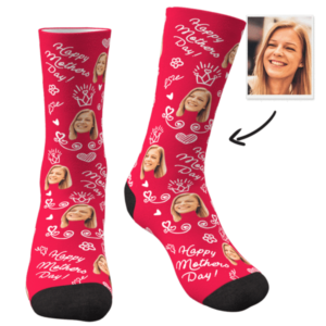 Custom Face Socks Mom-Happy Mother's Day- Presents For Your Mum – MyFaceSocksUK