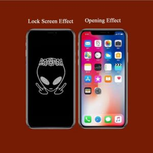 ET Stealth Cartoon Pattern Tempered Glass Film – GetCustomPhoneCase