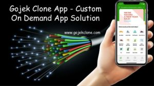 Gojek Clone App – Custom On Demand App Solution