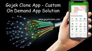 Gojek Clone App – Custom On Demand App Solution