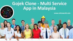 Gojek Clone – Multi Service App in Malaysia