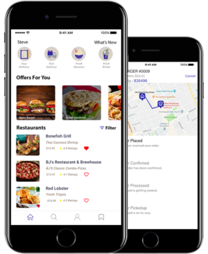 Give your customers a solid GrubHub Clone app designed and developed for budding entrepreneurs w ...