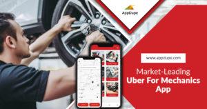 Market-leading Uber for mechanics app