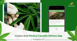 Comprehensive medical cannabis delivery app
