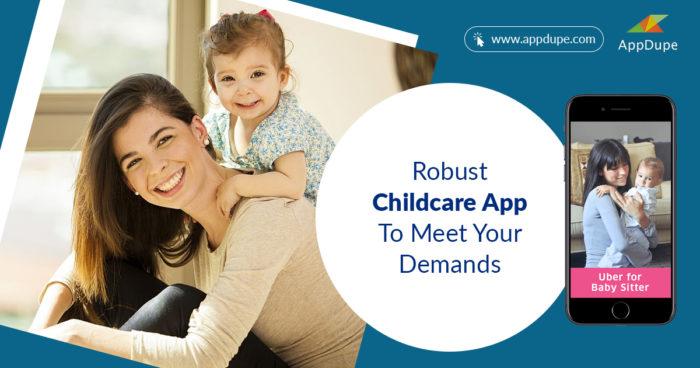 Robust childcare app to meet your demands