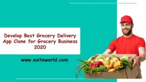 Develop Best Grocery Delivery App Clone for Grocery Business 2020