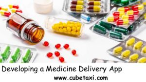 Developing a medicine delivery app