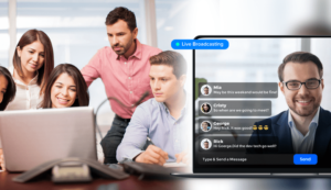 Many enterprises are rapidly shifting to remote work where virtual events is on high demand  and ...