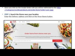 Grocery Ordering From Website – Grocery System 2020