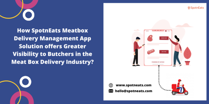 Launch Your Meat Box Delivery Management App with SpotnEats