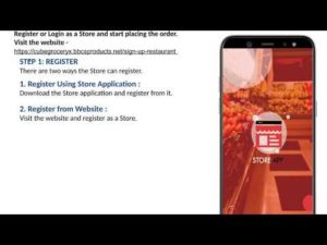 Manual Grocery Order From Store Web Panel – Grocery 2020 App