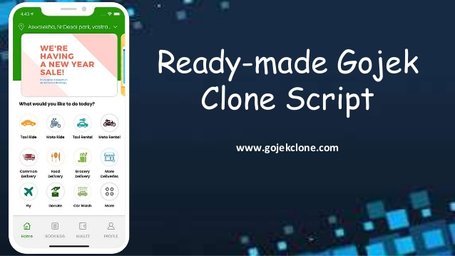 Ready-made Gojek Clone Script