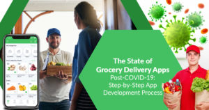 The state of grocery delivery apps post-COVID-19: Step-by-step app development process