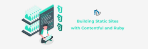 Build static website with content strategy.