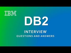DB2 Interview Questions and Answers | IBM | RDBMS | – YouTube
