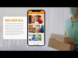 DeliverAllX 2020 Application – Real Time Working Demo
