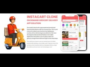 Instacart Clone – On Demand Grocery Delivery App Script Demo