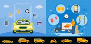 Grab Clone: On Demand Delivery With Taxi Booking App