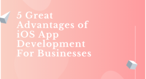 5 Great Advantages of iOS App Development For Businesses