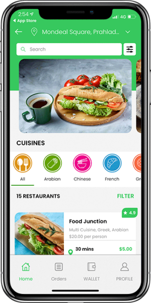 Doordash Clone – White Label Food Delivery App