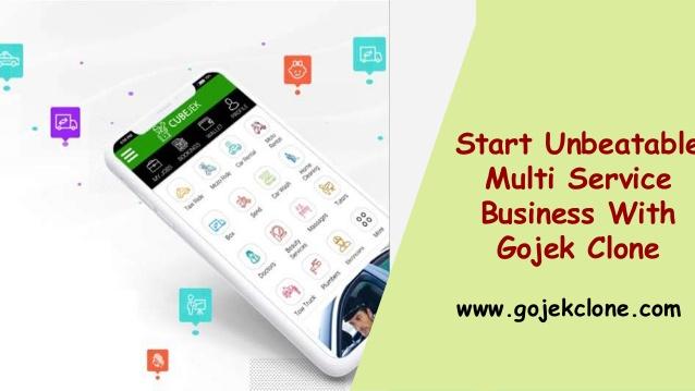 Start Unbeatable Multi Service Business With Gojek Clone