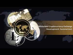Whitelabel Cryptocurrency Exchange Development  Summarized; – YouTube