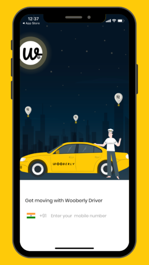 Wooberly – Uber clone app