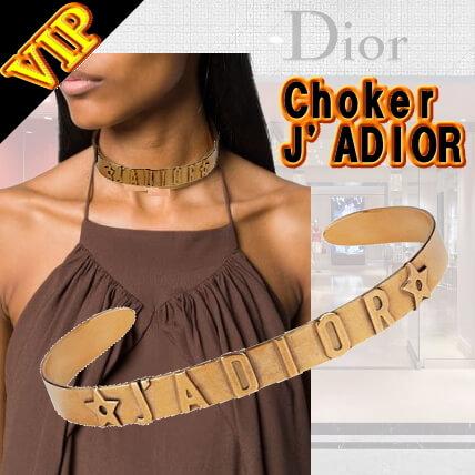 新作ディオール【Dior】J'Adior アンティークゴールド チョーカー カラー ゴールド 素材:ゴール ...