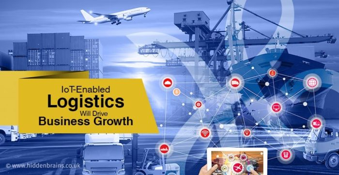IoT in Logistics | Internet of Things in Logistics & Transportation Industry Internet of thi ...