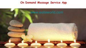 On Demand Massage Service App