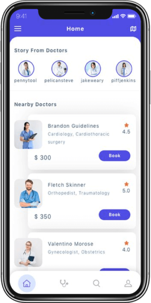 On-Demand Doctor App Development