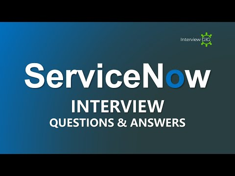 ServiceNow Interview Questions and Answers   Most Asked Interview Questions   – YouTube