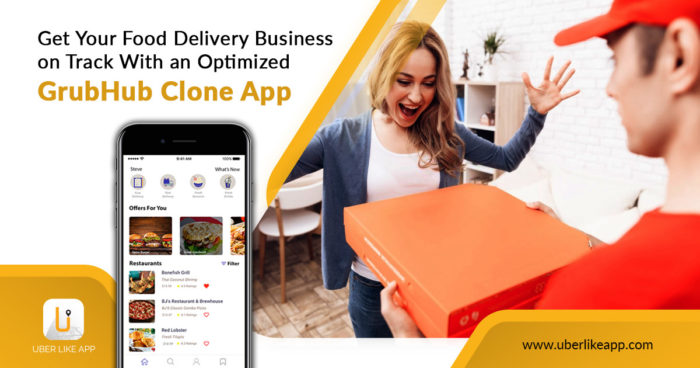 Steps to develop an on-demand food delivery app like Grubhub