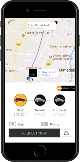 Careem Clone: Taxi Booking App Clone Script