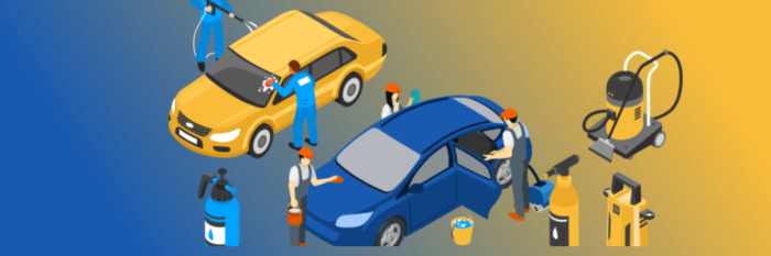The market size of the car wash & auto detailing industry has grown 4.4% per year on average ...