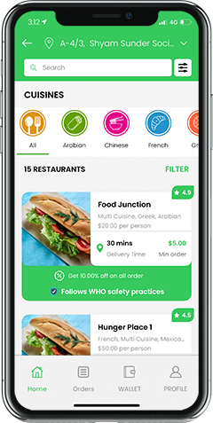 UberEats Clone: Uber for Food Delivery App Clone Script