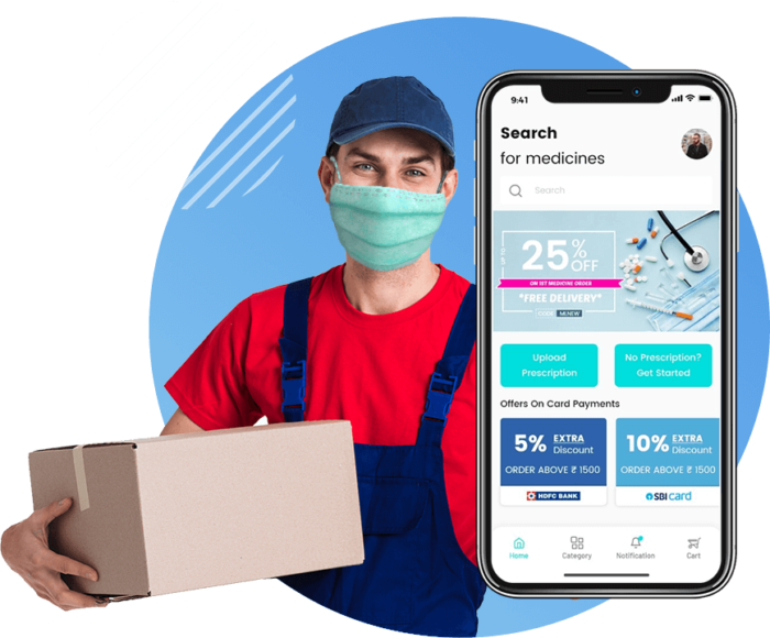 The extensive checklist for developing an on-demand medicine delivery app.