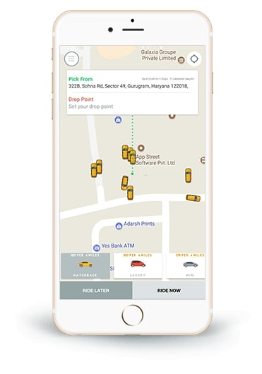 Reshape your taxi business with Uber clone app