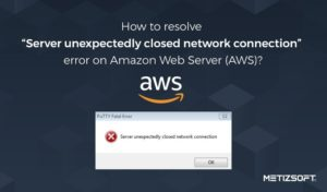 AWS Server Closed Network Connection Error: How to Resolved it?