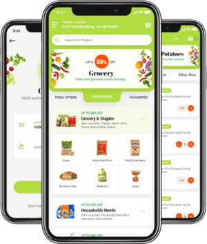 Be the opportunist and get a grocery delivery app