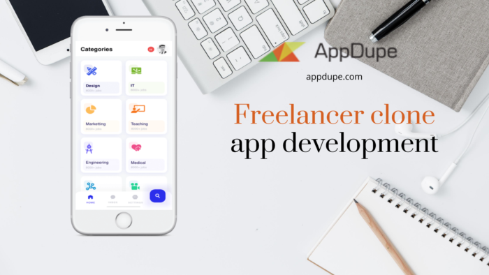 What are the perks of using the Freelance clone app?